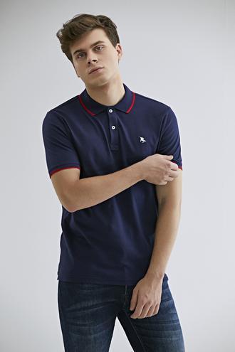 Ds Damat Regular Fit Lacivert T-shirt - 8682060800619 | D'S Damat