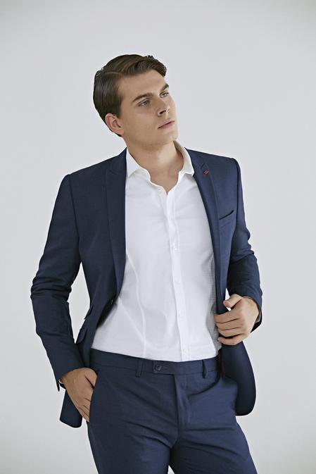 Twn Slim Fit Lacivert Düz Takım Elbise - 8682445099645 | D'S Damat