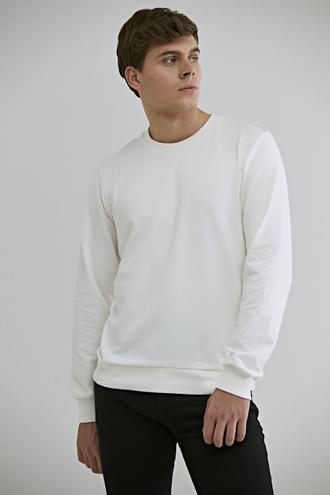 Ds Damat Regular Fit Beyaz Melanj Sweatshırt - 8682060948939 | D'S Damat