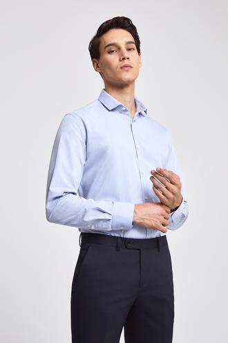 Twn Slim Fit Mavi Gömlek - 8682060773548 | D'S Damat