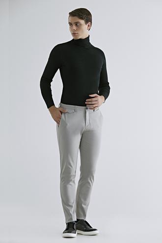 Twn Slim Fit Taş Armürlü Chino Pantolon - 8682060745194 | D'S Damat