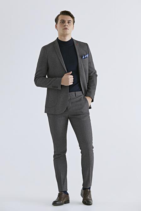 Twn Slim Fit Bordo Düz Takım Elbise - 8681779648888 | D'S Damat
