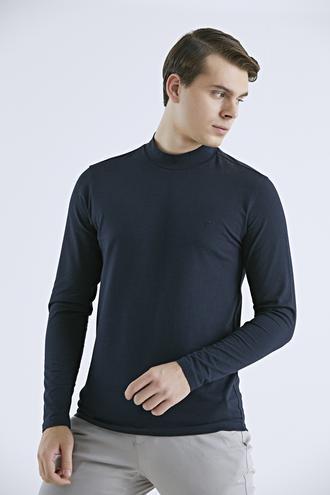 Twn Slim Fit Lacivert T-shirt - 8682445509632 | D'S Damat