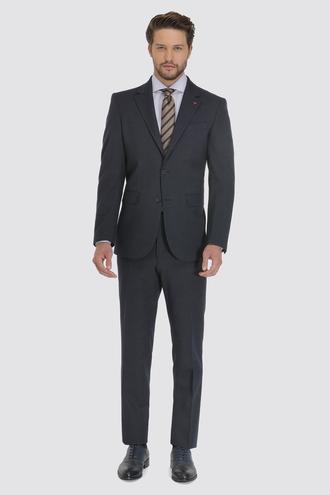 Ds Damat Regular Fit Slim Fit Lacivert Çizgili Takım Elbise - 8681779472933 | D'S Damat