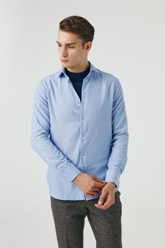 Ds Damat Slim Fit Mavi Gömlek - 8681779952084 | D'S Damat