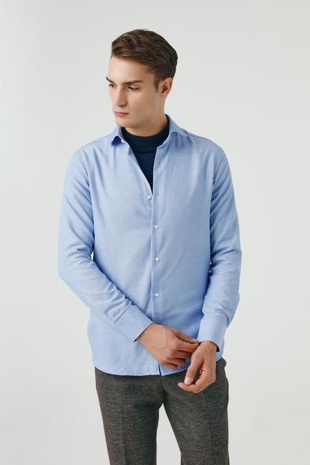Ds Damat Slim Fit Mavi Gömlek - 8681779952084   D'S Damat