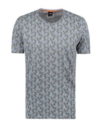 Tween Gri Baskılı T-shirt - 8681649433293 | Damat Tween