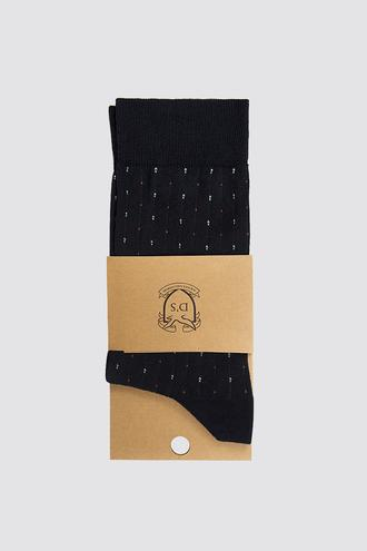 Ds Damat Lacivert Çorap - 8682060860590 | D'S Damat