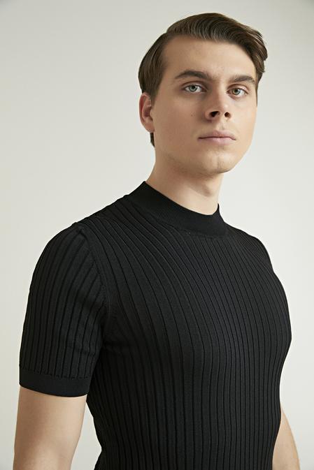 Twn Slim Fit Siyah T-shirt - 8682445506013   D'S Damat
