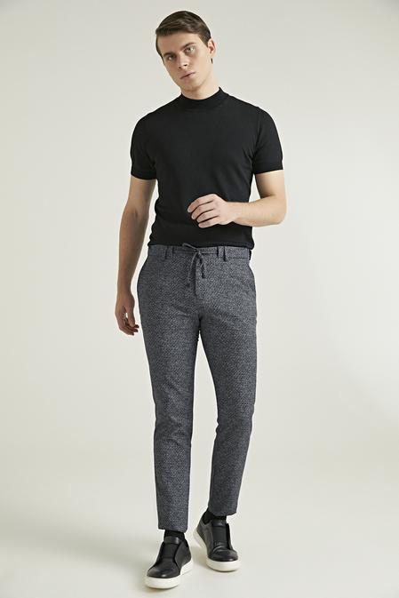 Ds Damat Slim Fit Antrasit Jogger Pantolon - 8682445304398 | D'S Damat