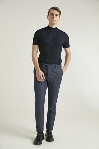 Ds Damat Slim Fit Lacivert Jogger Pantolon - 8682060932433 | D'S Damat