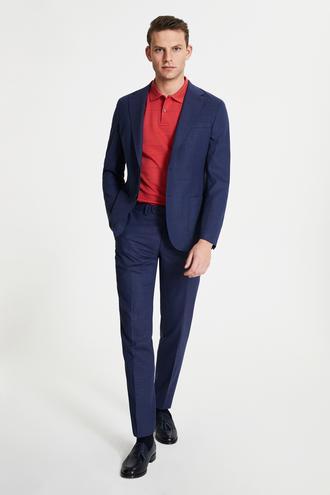 Damat Slim Fit Lacivert Takım Elbise - 8682364490677   Damat Tween