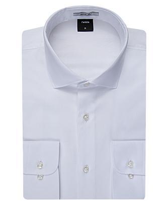 Tween Slim Fit Beyaz Desenli Gomlek - 8681649005612 | Damat Tween