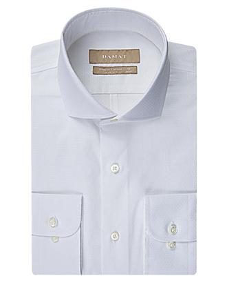 Damat Slim Fit Beyaz Desenli Gomlek - 8681649057918 | Damat Tween