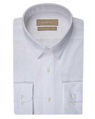 Damat Slim Fit Beyaz Desenli Gomlek - 8681649345206 | D'S Damat