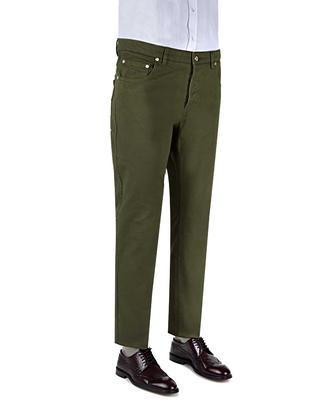 Damat Slim Fit Haki Pantolon - 8681649360360 | D'S Damat