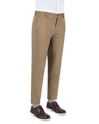 Damat Slim Fit Camel Pantolon - 8681649430568   D'S Damat