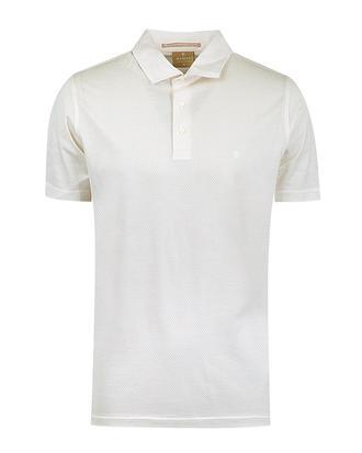 Damat Ekru Jakar Desenli T-shirt - 8681649433187 | Damat Tween