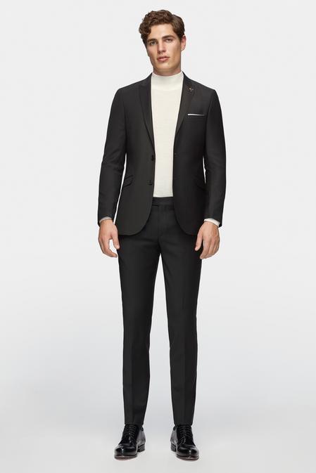 Tween Slim Fit Slim Fit Siyah Takım Elbıse - 8681649474548   Damat Tween
