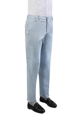 Damat Slim Fit Mavi Dokulu Pantolon - 8681649563105 | D'S Damat