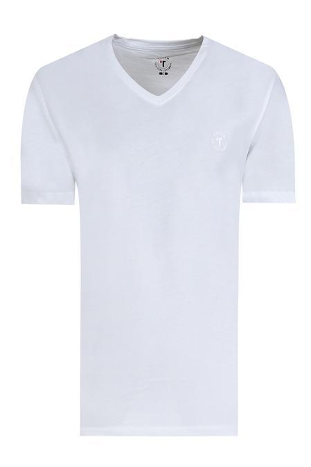 Tween Beyaz T-shirt - 8681649583554   Damat Tween