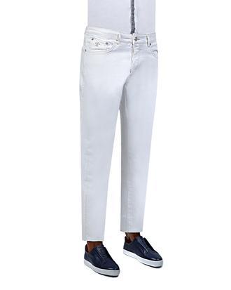 Damat Slim Fit Beyaz Denım Pantolon - 8681649163305 | Damat Tween