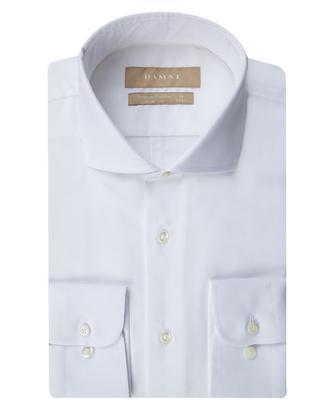 Damat Slim Fit Beyaz Desenli Gomlek - 8681649705451 | D'S Damat