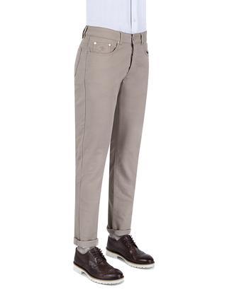 Damat Slim Fit Bej Denım Pantolon - 8681649422860 | Damat Tween