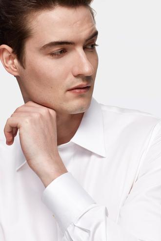 Damat Slim Fit Beyaz Gömlek - 8682364841998   Damat Tween