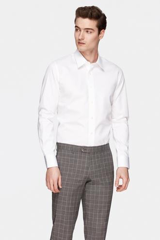 Damat Slim Fit Beyaz Gömlek - 8682364405947 | Damat Tween