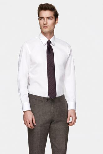 Damat Slim Fit Beyaz Nano Care Gömlek - 8681649975786 | Damat Tween