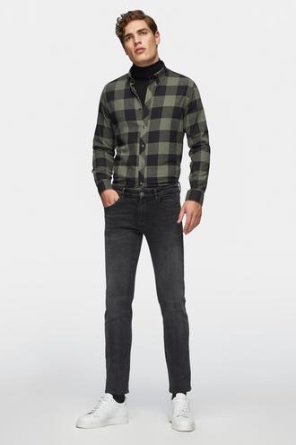Tween Super Slim Fit Siyah Denım Pantolon - 8681649815624   Damat Tween