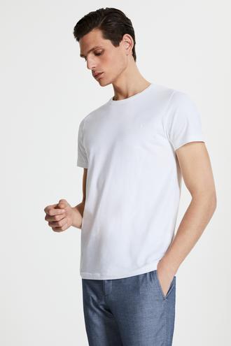 Tween Beyaz Baskılı T-shirt - 8681649866572 | Damat Tween