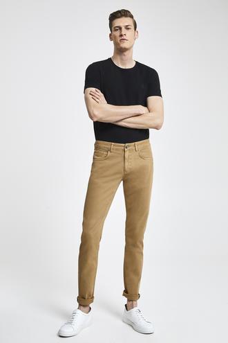 Tween Super Slim Fit Camel Chino Pantolon - 8681649894896 | Damat Tween