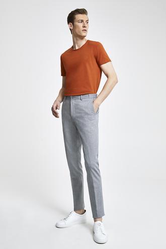 Tween Super Slim Fit Lacivert Desenli Chino Pantolon - 8682364495665 | Damat Tween