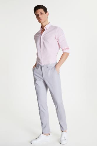 Tween Slim Fit Gri Chino Pantolon - 8681649986317 | Damat Tween