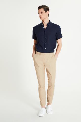 Tween Slim Fit Camel Chino Pantolon - 8681649986430 | Damat Tween