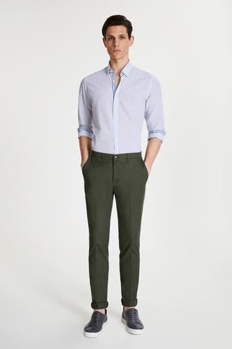 Tween Slim Fit Haki Chino Pantolon - 8681649986492 | Damat Tween