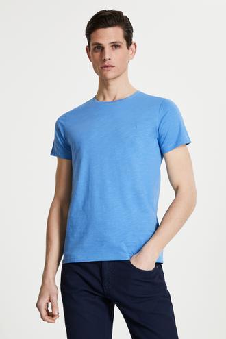 Tween Mavi Baskılı T-shirt - 8681649987833 | Damat Tween
