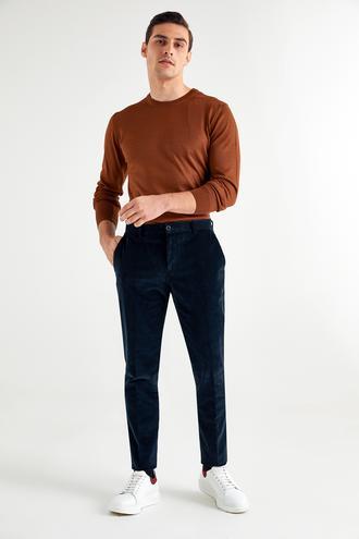Tween Slim Fit Lacivert Chino Pantolon - 8682364352371   Damat Tween