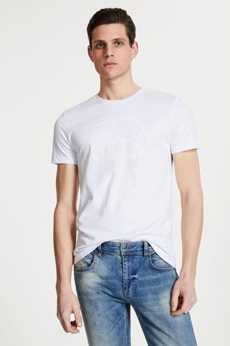 Tween Beyaz Baskılı T-shirt - 8682364089994 | Damat Tween