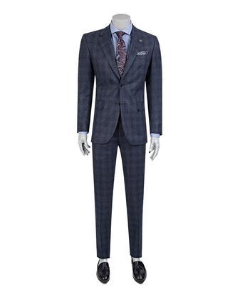 Damat Regular Fit Lacivert Takım Elbise - 8681649324478 | Damat Tween