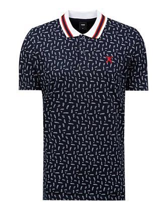Tween Lacivert Baskılı T-shirt - 8681649726685 | Damat Tween