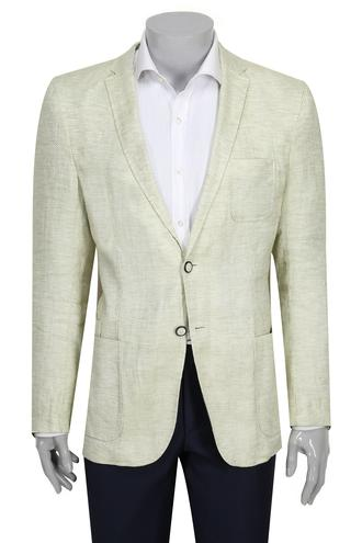 Tween Slim Fit Yeşil Kumaş Ceket - 8681649459491 | D'S Damat