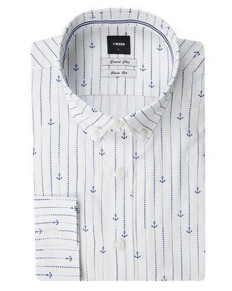 Tween Slim Fit Beyaz Çizgili Gömlek - 8681649522751 | D'S Damat