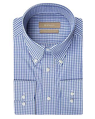 Damat Comfort Mavi Desenli Gömlek - 8681649372691 | Damat Tween