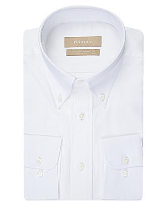 Damat Comfort Beyaz Desenli Gömlek - 8681142992297 | D'S Damat