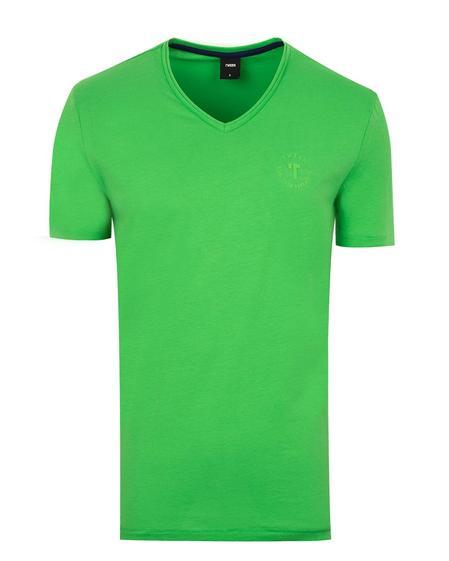 Tween Yeşil Baskılı T-shirt - 8681649199526   Damat Tween