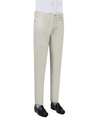Damat Slim Fit Taş Dokulu Chino Pantolon - 8681649673002   D'S Damat
