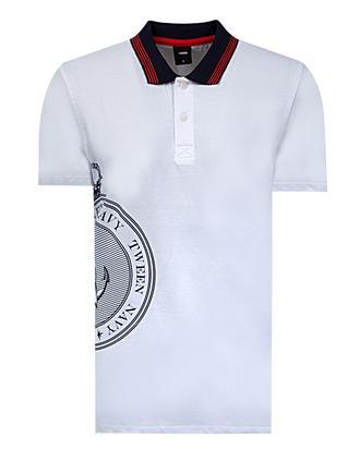 Tween Beyaz Baskılı T-shirt - 8681649116561 | Damat Tween